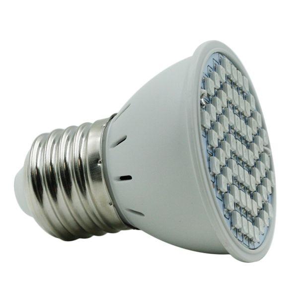 Led Blume Wachsende Lampe Pflanzen Licht E27 4 Watt 3528SMD 60LED AC85-265V 5 Watt Vollspektrum