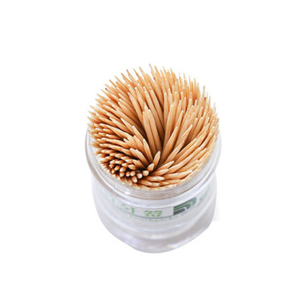 Natürliche Bambus Zahnstocher Werkzeuge Zahnstocher Box Tragbare Holz Tandenstokers Dental Für Home Restaurant Hotel Produkte
