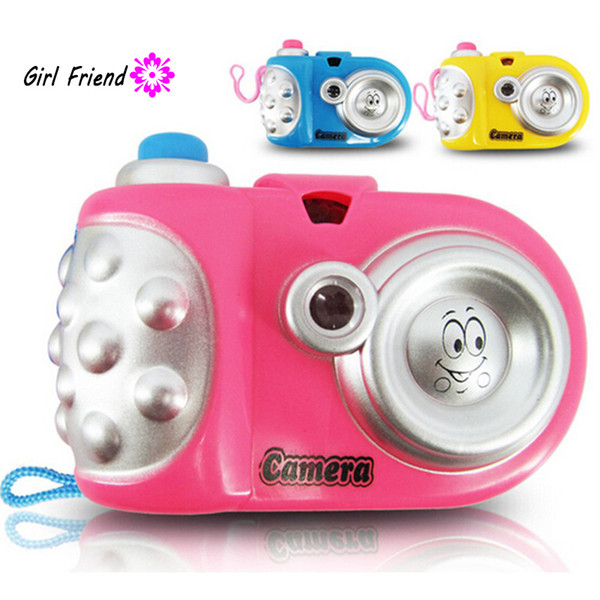 Funny LED Light Projection Animal Pattern Educational Study Toys Children Baby Kids Projection Camera Toy Random Color A