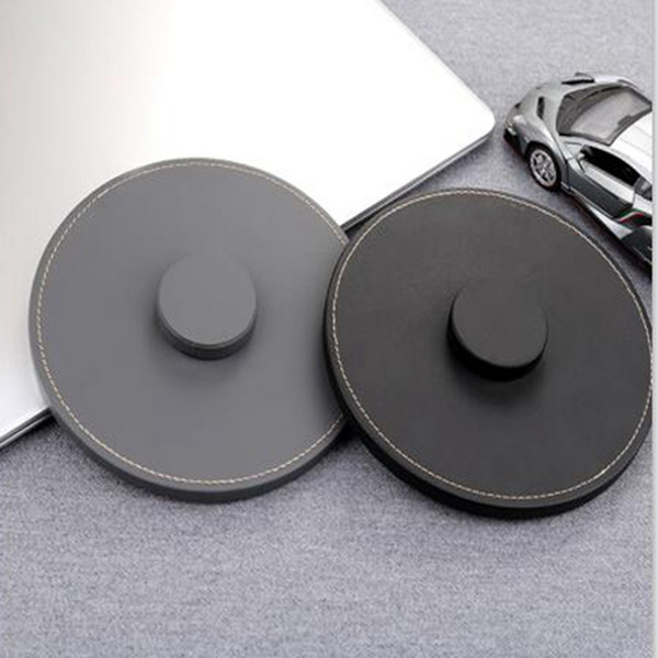 HOMEPOD Lederständer, Naturleder Anti-Rutsch-Schutz Coaster Pad Halter für Apple HOMEPOD Intelligenter Lautsprecher