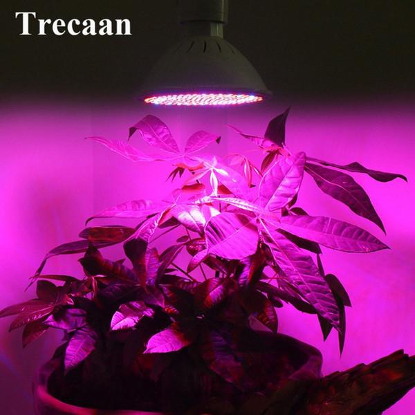 Full Spectrum hydroponics Green House Lighting LED Grow Light E27 166 Red + 34 Blue LED Lamp Bulb for Indoor Plants Flowers
