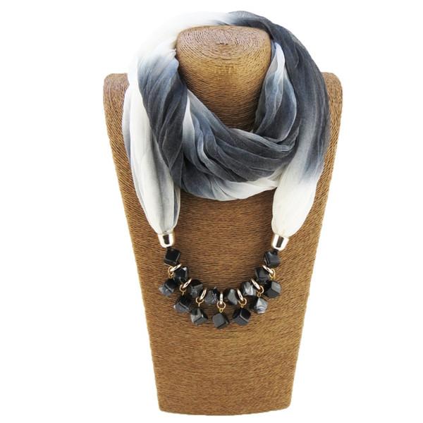 Ciondoli lunghi collane perline ciondolo sciarpa collana pendente ciondolo per donne bijoux etnica femme dropshipping
