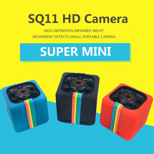 Más reciente SQ11 Mini cámara HD 1080P Cámara de visión nocturna Mini Videocámara Cámara de acción DV Video Grabadora de voz Micro Cámaras