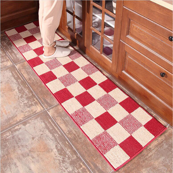Non-Slip Kitchen Long Carpet Hallway Balcony Patio Floor Rugs Home Decor Bedside Footcloth Yoga Mats Exercise Pads Passage Tapis