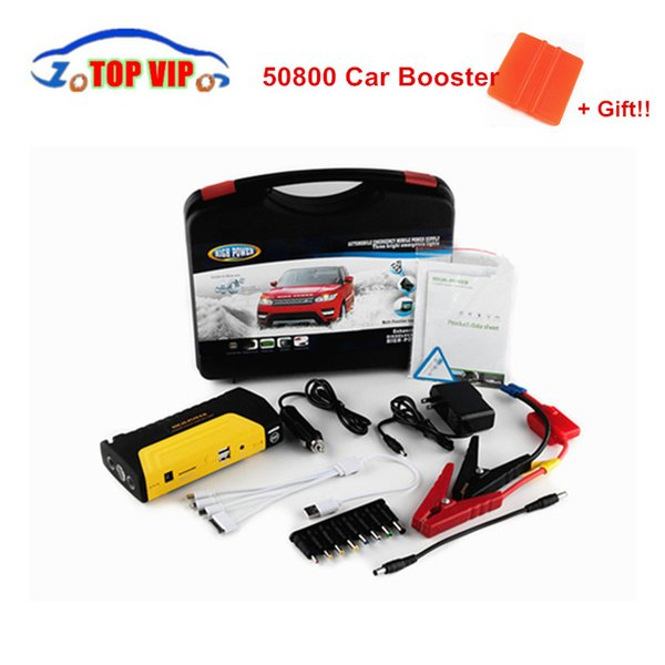 Best low price Car Jump Starter Multi-Function 12V Car Battery Charger Power Bank Laptop External Rechargeable Battery