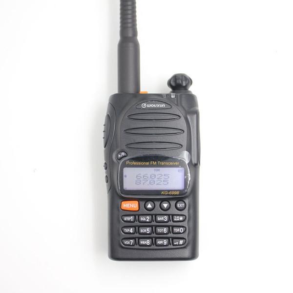 2 TEILE / LOS Beste qualität Wouxun KG-699E 66-88MHZ High power Handheld zwei weg radio / walkie talkie mit LCD display IP55 wasserdicht