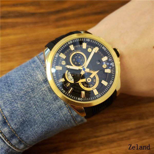 AAA New silver Mens F1 Luxury Brand Automatic movement Watch Big Bang men Mechanical Watches Fashion Sports Wristwatch