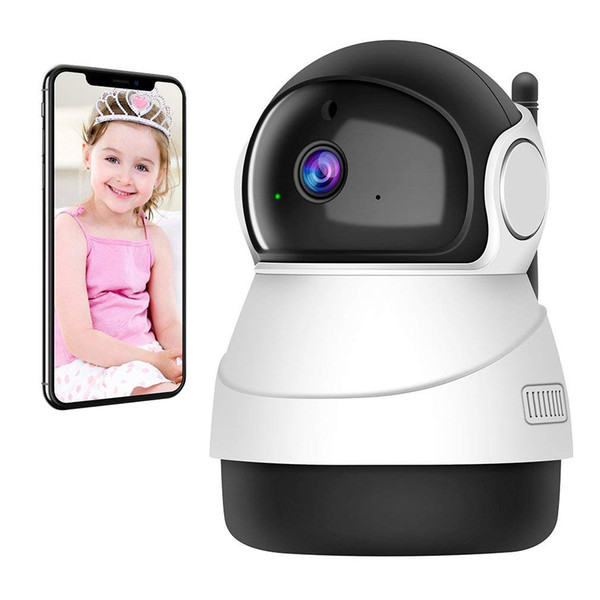 Hot HD 1080P SANNCE Home Security Wireless Smart IP Camera Surveillance Camera Wifi 360 rotating NightVision CCTV Camera Baby Monitor
