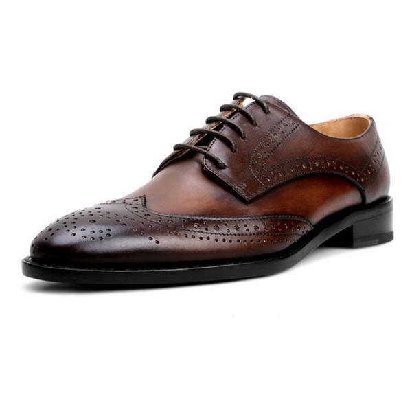 Scarpe Per Matrimonio Uomo : Acquista grimentin vendita calda marca scarpe fatte a mano moda