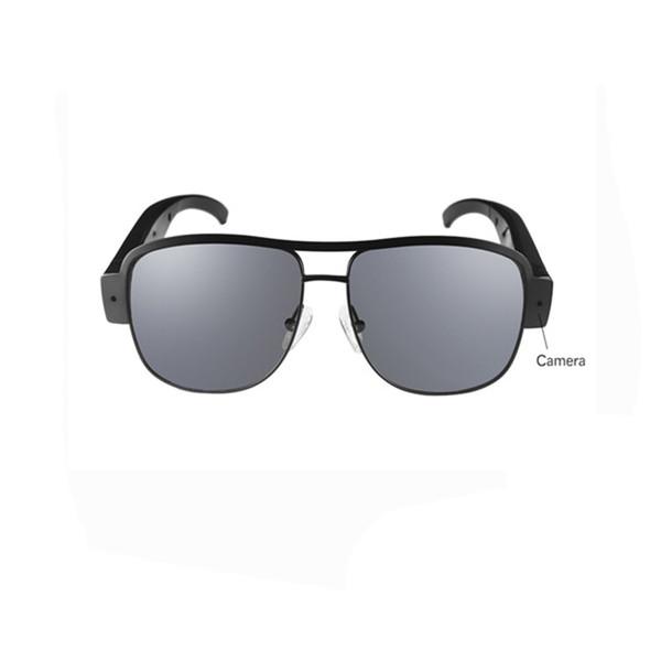 Portable Überwachung Pinhole Mini Brille Kamera 1920x1080P Sicherheit DVR Video Audio Recorder Brillen Camcorder Sonnenbrille Kamera