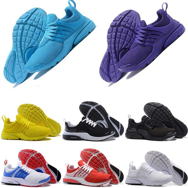 Wholesale Running Shoes For Women Men presto triple black white athletic Sport designer Shoes Outdoor Trainers Sneakers zapatillas eur 36-45