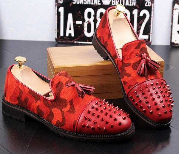 Sapatos novos de couro, borla, código extra grande para homens. Sapatos masculinos de quatro estações, anti-skid. Solas de borracha, sapatos 38-43c74.