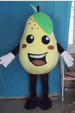 2018 High quality Rapid Make High quality EVA Material pear Mascot Costume fruit Cartoon Apparel advertisement