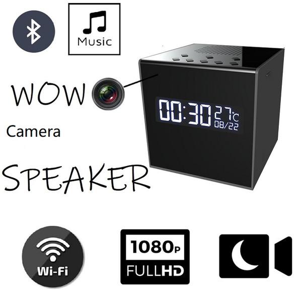 Enregistreur vocal 128G enregistreur vocal WIFI caméra Bluetooth caméra de sécurité sans fil 1080p