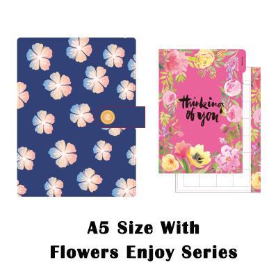 A5 Blumen genießen