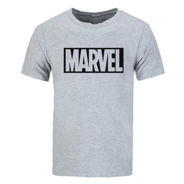 Marvel Logo T-Shirt Comic Book Superhero Clothing For Men and Women Men Cotton T-Shirt Printed T Shirt top tee The New