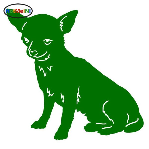 Wholesale Car Styling Chihuahua Dog Car Stickers Endearing Vinyl Decal Car Styling Truck Decoration