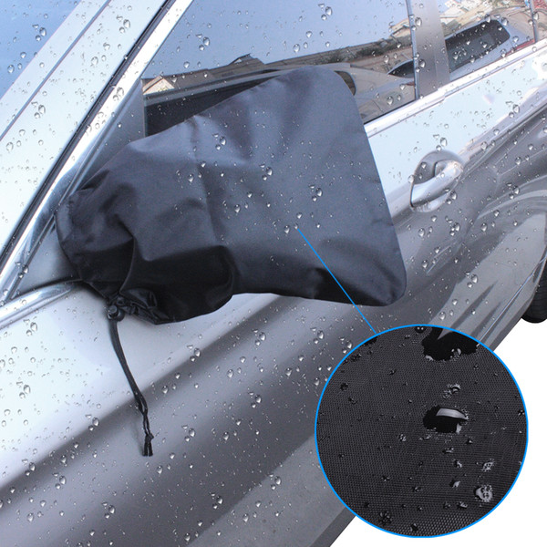 best selling Car Mirror Snow Covers Set Of 2 Protect Auto Exterior Rearview Mirrors From Snow Ice Frost 10.62x9.44 Inch For Most Cars Waterproof