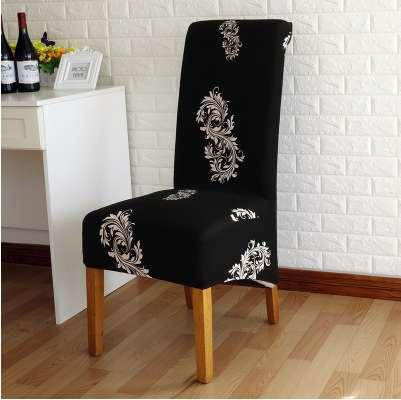 Europe style long back Chair Cover printed Chair Covers for Wedding home hotel banquet sillas housse de chaise home decoration