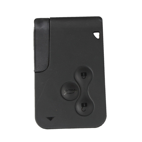 top popular 3 Buttons Remote Keycard key Smart Card Key BlankCard Shell Case For Car RENAULT Megane Uncut Blade 2021