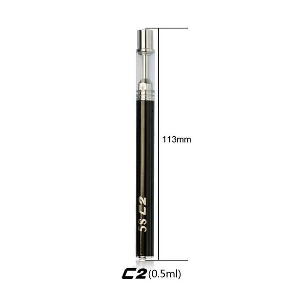Hot sale ceramic coil Disposable e cigarette 5Scc oil vape pen vaporizer thick oil cartridge disposable electronic cigarette