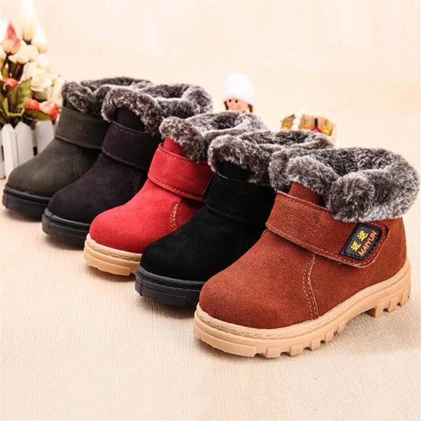 Großhandel Kinder Stiefel Jungen Mädchen Schneeschuhe