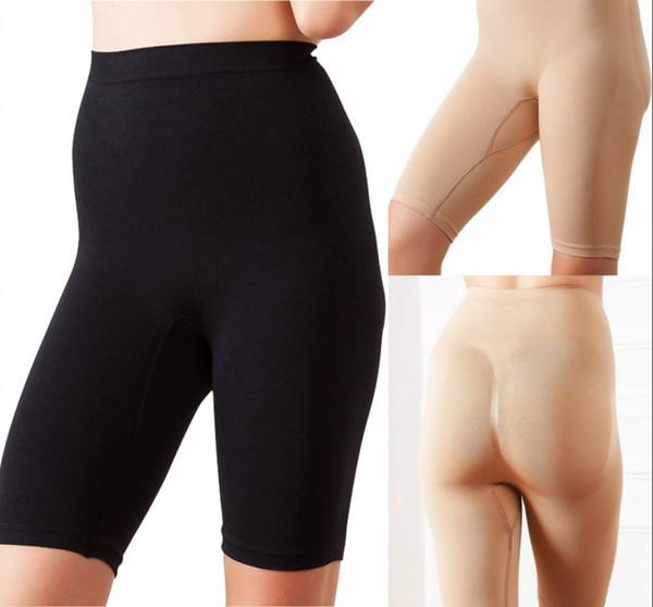 Pantalón de mujer Faja de control de abdomen Pantalones cortos de cintura alta Cuerpo delgado Levantamiento Forma Pierna Bragas Formadoras CPA1356