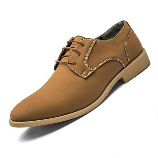 Descuento zapatos Oxford para hombres Zapatos Casual marca italiana Calzado hombre Herren Schuhe Sapato masculino Buty