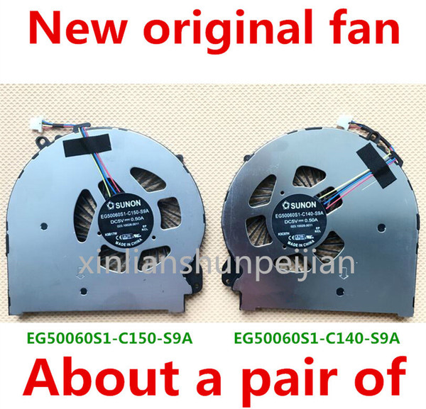 New Original for arrogant game Laptop cooling The graphics card CPU fan CPUFAN HP RMN:TPN-W111 TPN-WIII