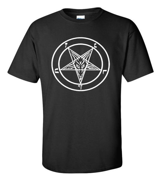 BAPHOMET PENTAGRAM T-SHIRT satan black metal death metal goth gothic satanic