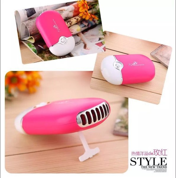 best selling Wholesale Eyelash Extension Glue Quick Dry False Eyelash Blow Drying USB Mini Fan Air Conditioning Nail DrierMakeup Tool