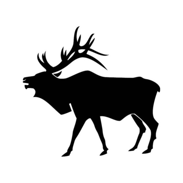 Elk Animal Car Sticker Vinyl Car Packaging Body Decal Accesorios Producto Santa Claus