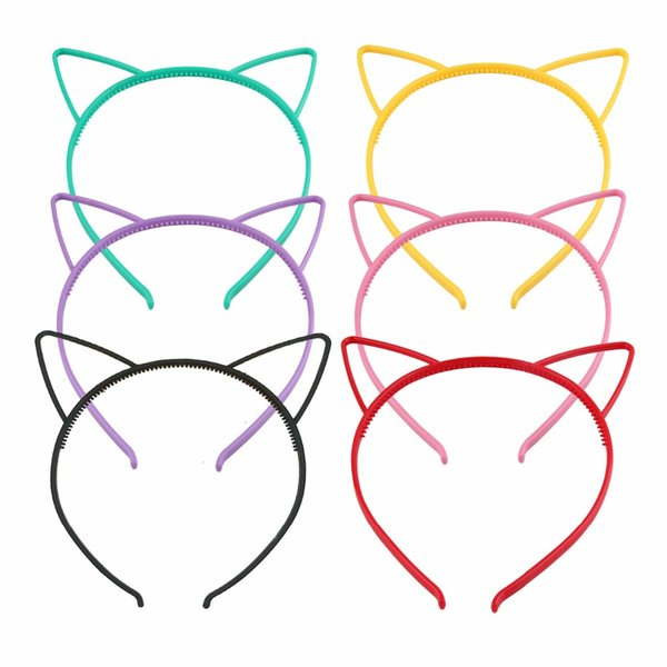 kids Fashion Headband Baby party props sexy black cat ears girl headwear hair hoop accessories for women Hairband kids Head band
