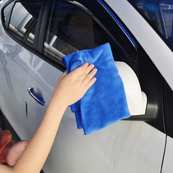 160*60CM Car Cleaning Towels Fibre Towel Super Absorbent Superfine Clean Towels Car Scrubbing Big Size High Quality 50PCS