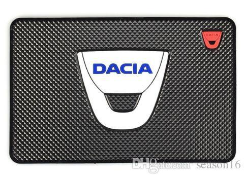 Wholesale Auto Car-Styling Mat Car Sticker Emblems Badge Case For Dacia Duster Logan Sandero Lodgy Pads Interior Accessories Car Styling