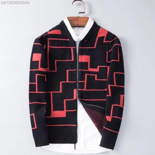 Autumn and winter new men's wool sweater cardigan men knitwear outfits M-4XL