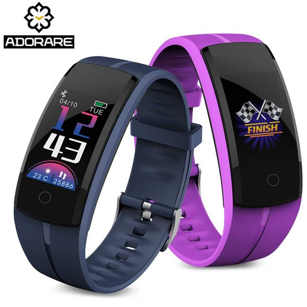 ADORARE Smart Bracelet Men Women Fitness Tracker Heart Rate Monitor GPS Pedometer Color Screen For IOS Android Smart Wristband