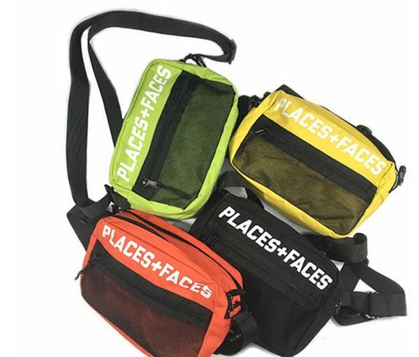 Chest bag P+F pockets for men and women retro sports 3M reflective shoulder Messenger bag designer backpack