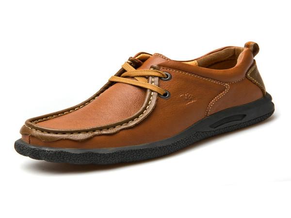 Invierno 2014 Camello Hombre E Compre De Otoño Zapatos vTRB0nx