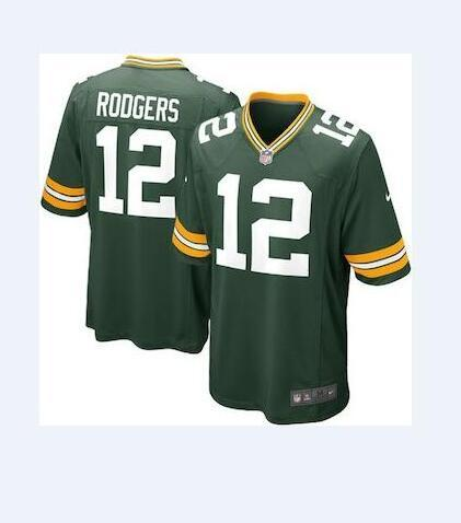 the best attitude 50985 64144 2018 12 Aaron Rodgers Jersey Green Bay Packers Jimmy Graham Bart Starr  Personalized Sport Authentic American Football Jerseys Stitched Shirts 4xl  From ...