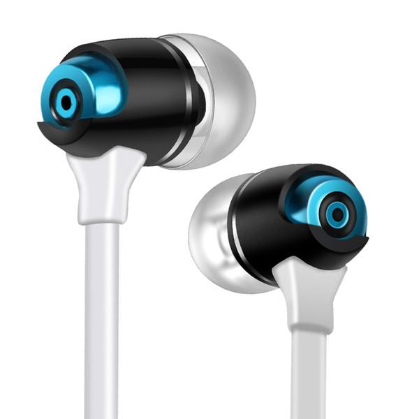 Fone de ouvido intra-auriculares para smart phone computador mp3 mp4 esporte fone de ouvido com fio de 3.5mm jack linha de fone de ouvido sem microfone