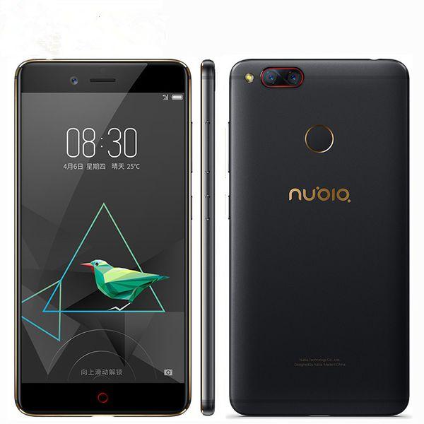 Original Nubia Z17 Mini 4G LTE Handy 6 GB RAM 64 GB ROM Löwenmaul 653 Octa Core 5,2 Zoll 16,0 MP Fingerabdruck ID NFC Smart Handy