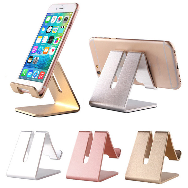 Evrensel Alüminyum Metal Cep Telefonu Tablet Tutucu Danışma Standı iphone X 8 7 iPad Samsung S8 S9 Artı Huawei XiaoMi E-kitap Galaxy Tab