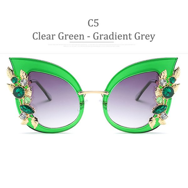 Grigio sfumato verde chiaro C5