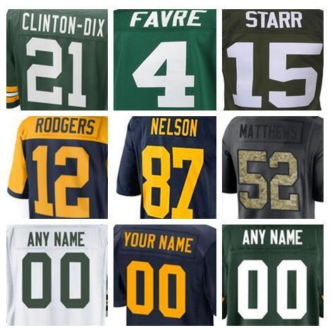 brand new c46dc 08821 2018 Green Aaron Bay Rodgers Packer Jersey Custom Clay Matthews Jordy  Nelson Authentic Sports Youth Kids American Football Jerseys 4xl Cheap Xxxl  From ...