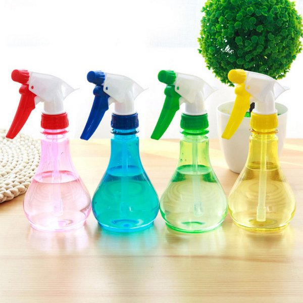 250ML PET Gardening tools small watering cans watering flower spray pot plant spray bottle hand pressure watering bottle