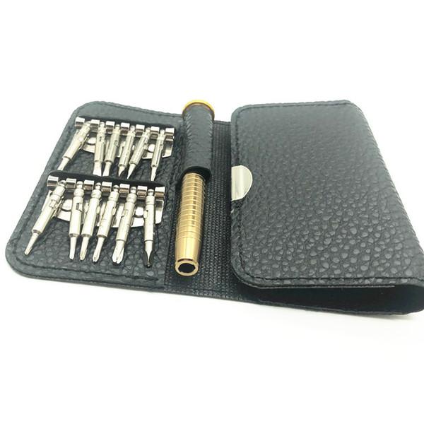 Magnetisches Handy Schraubenzieher-Mappen-Reparatur-Werkzeug-Satz für iPhone PC-Laptop-Gläser-Haushalts-elektronische Teile