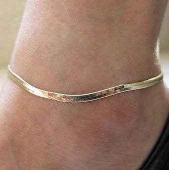 L'europe et l'amérique métal chaîne fine balance de poisson de haute qualité Bracelet chaîne de serpent