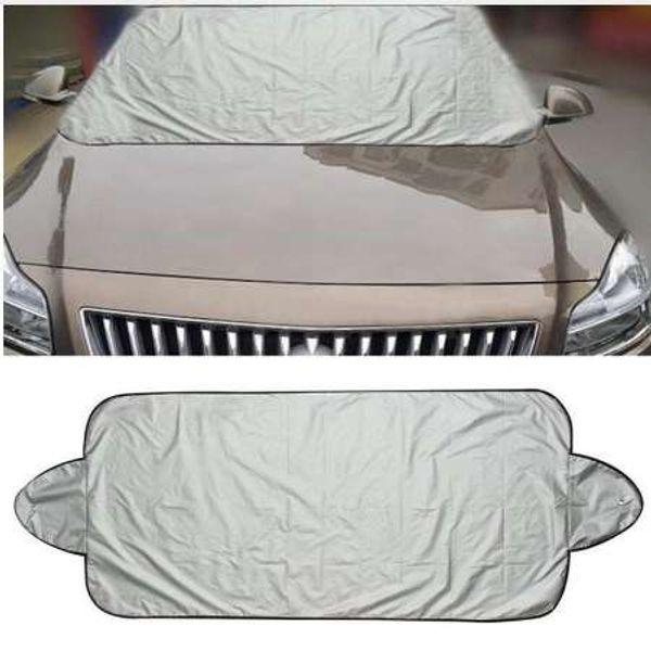 Tiptop Good Sale Car Snow Ice Protector Visor Sun Shade Fornt Rear Windshield Cover Block Shields Drop Shipping
