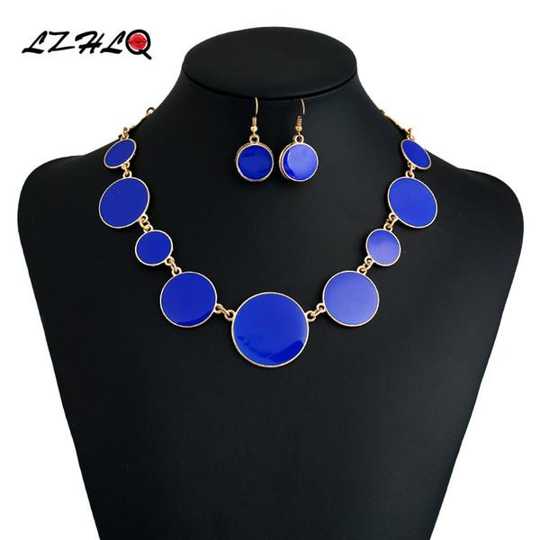 Marca de moda Gargantilla Collar Para Las Mujeres 2019 Accesorios de  Joyería Geométrica Al Por Mayor c728f06f388